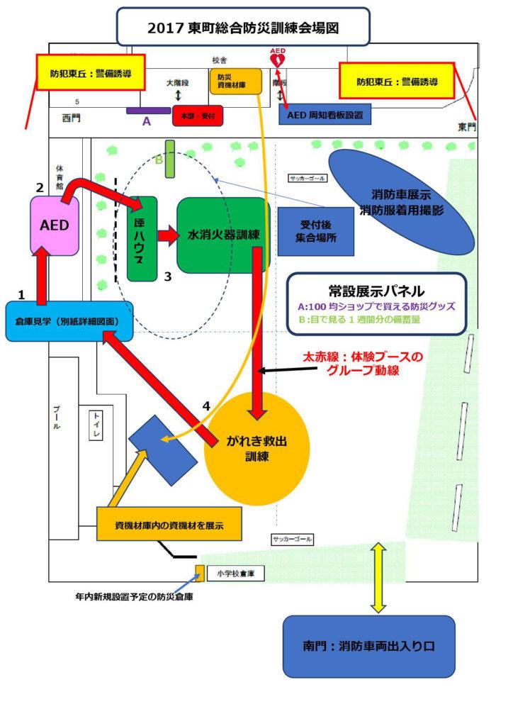 2017総合防災訓練