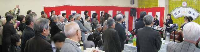2012年度 協議会設立記念・新春交歓会